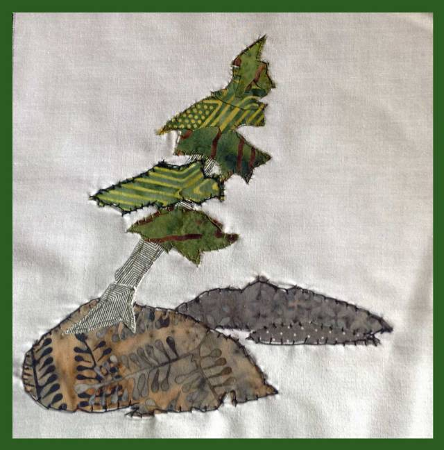 Moorecroft Logo Quilt Piece
