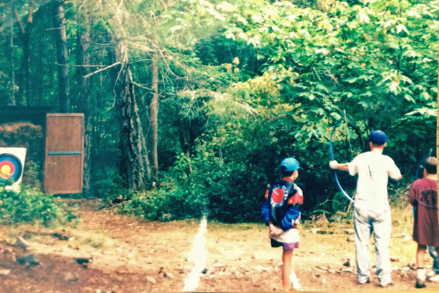 Archery at Moorecroft Camp