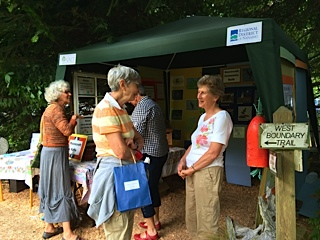 Moorecroft Stewards at Art in the Garden