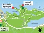 Moorecroft Location Map