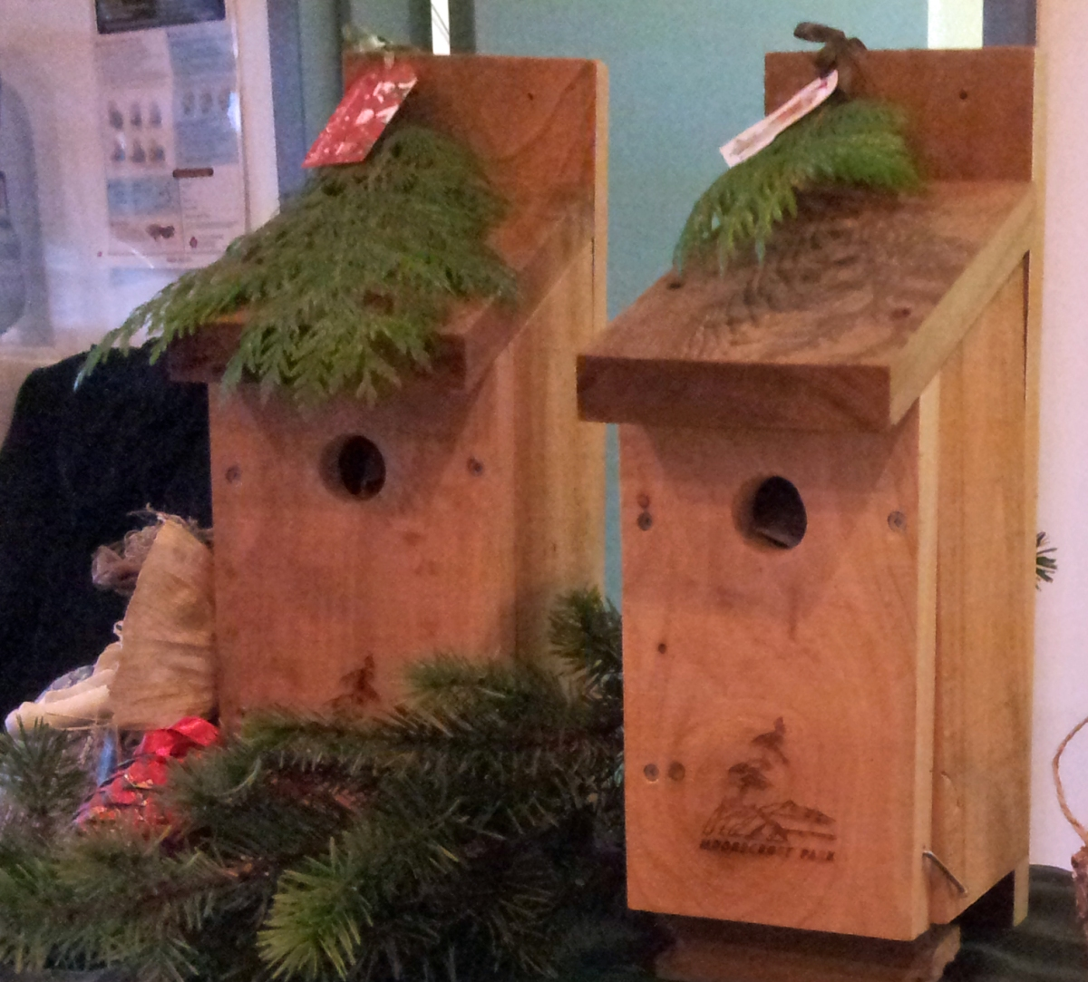 Moorecroft Bird Nesting Boxes