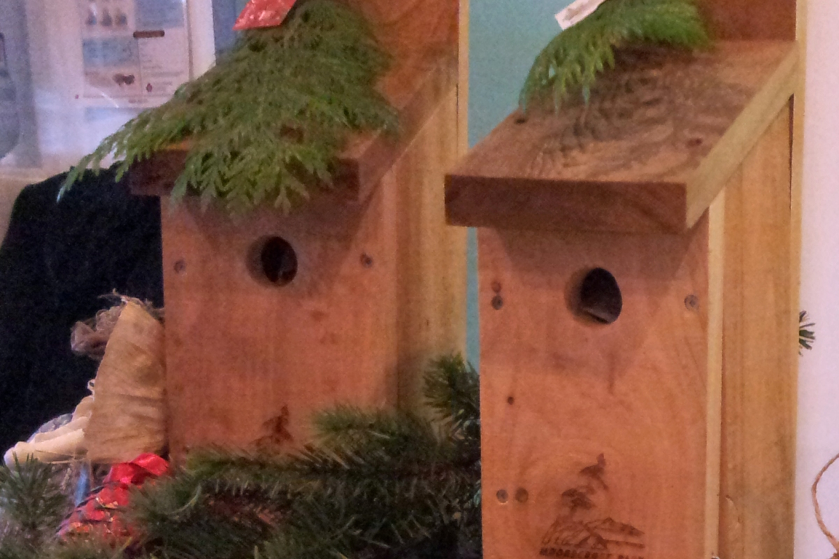 Moorecroft Bird Nesting Boxes